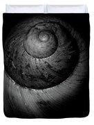 Black And White Shell Art Duvet Cover
