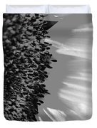 Black And White Sunflower Duvet Cover