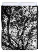 Black And White Tree 2 Duvet Cover