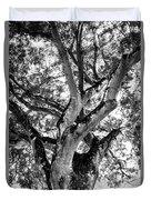 Black And White Tree Duvet Cover