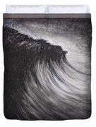 Black And White Wave Guam Duvet Cover