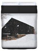 Black Barn II Duvet Cover