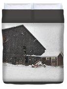 Black Barn IIi Duvet Cover