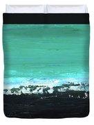 Black Beach Duvet Cover