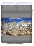 Black Bear Lake Camp - Sierra Duvet Cover
