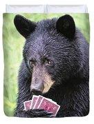 Black Bear Says I Call  Duvet Cover