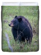 Black Bear Yellowstone Np_grk7085_05222018 Duvet Cover