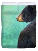 Black Bear's Bum Duvet Cover
