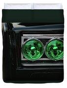 Black Beauty Clone Car Duvet Cover