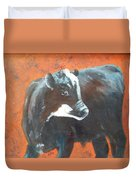 Black Beauty Duvet Cover by Jean Ann Curry Hess