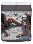 Black Bikinis 11 Duvet Cover