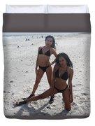 Black Bikinis 13 Duvet Cover