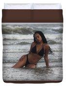 Black Bikinis 35 Duvet Cover