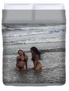 Black Bikinis 37 Duvet Cover