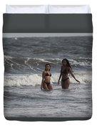 Black Bikinis 42 Duvet Cover