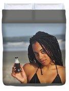 Black Bikinis 59 Duvet Cover