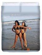 Black Bikinis 65 Duvet Cover