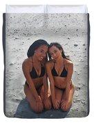 Black Bikinis 9 Duvet Cover