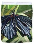 Black Butterfly Duvet Cover