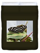 Black Butterfly Duvet Cover