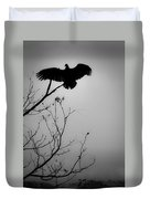 Black Buzzard 6 Duvet Cover