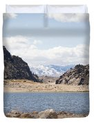 Black Canyon View - Pathfinder Reservoir - Wyoming Duvet Cover