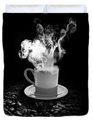 Black Coffee Duvet Cover by Stefano Senise