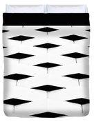 Black Diamond Duvet Cover