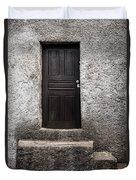 Black Door Duvet Cover