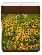Black Eyed Susans-1 Duvet Cover