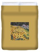Black-eyed Susans Duvet Cover