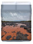 Black Falls Crossing Duvet Cover