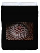 Black Fishnet Duvet Cover