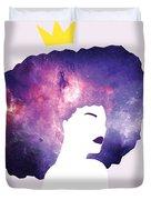 Black Girl Magic Lavender Duvet Cover
