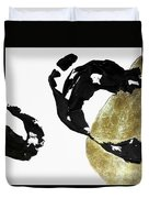 Black Gold 1 Duvet Cover