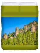 Black Hills Majesty Duvet Cover