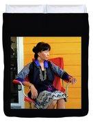 Black Hmong Sapa 1 Duvet Cover