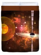 Black Hole Duvet Cover by Corey Ford