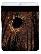 Black Hole Sun Duvet Cover