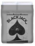 Black Jack  Duvet Cover
