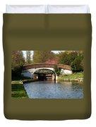 Black Jacks Bridge And Lock Duvet Cover