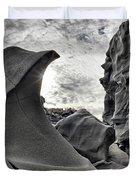 Black Magic Canyon Duvet Cover