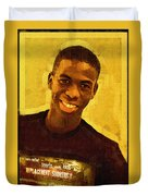 Young Black Male Teen 2 Duvet Cover