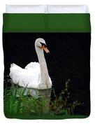 Black Mountain Swan Duvet Cover
