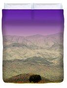 Black Mountains Az Duvet Cover