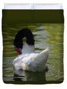 Black-necked Swan II Duvet Cover