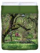 Black Oak And Creek Duvet Cover