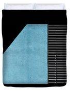 Black On Blue Duvet Cover