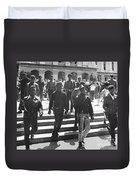 Black Panthers, 1967 Duvet Cover