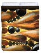 Mediterranean Olive Reverie.. Duvet Cover